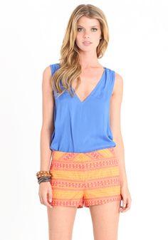 Extreme Sun Shorts #threadsence #coachella