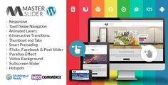 Master Slider WordPress is a premium high quality designed image and content slider for WordPress,…