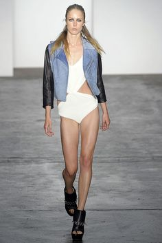 Alexander Wang Spring 2009 Ready-to-Wear Fashion Show - Raquel Zimmermann