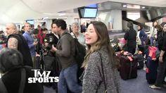 Miranda Cosgrove at the airport LAX
