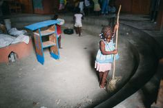 Keeping Haiti in Mind | Cleaning up | FATHOM
