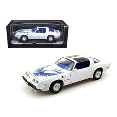 greenlight 1/18 diecast tv and movie cars   Greenlight Greenlight 50831 1980 Pontiac Firebird Trans Am White ...