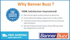 Check out why you need to choose Banner Buzz for Printing Services - http://www.bannerbuzz.co.uk/  #Printing #Banner #Event #Marketing #BannerStand #UK