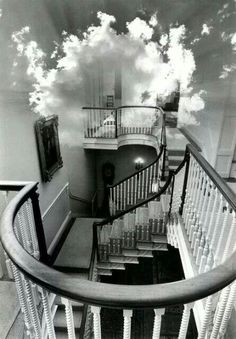 Freaks me out because I always have dreams about houses with tons of stairs and they look/feel just like this.