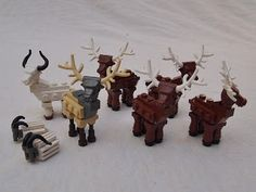 iBrick: Deer, Elk, Pronghorn and Goat instructions