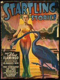 Startling Stories  via