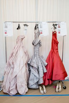 fashion and Zac Posen gowns dresses gown dress show style vogue chanel red coral printed pink blush mermaid dressy we heart it goals prom homecoming event grey gray models modeling model expensive luxury