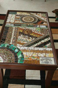 Using One Foot Square Gl Mosaic Sheets From Home Depot Or Tiles Wver Cut The Squares Off S Pinteres