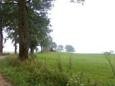 Przydrożny bunkier jadąc od Siedlisk w stronę wsi Lipińskie.
