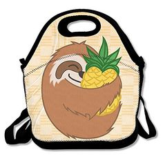 Find amazing Rosie Pope Baby Boys' Hats 3 Pack, Lion/Sloth/Truck, One Size sloth gifts for your sloth lover. Lunch Tote Bag, Picnic Bag, Lunch Bags, Baby Sloth, Cute Sloth, Sloth Animal, Long Romper, Stroller Blanket, One Piece Bodysuit