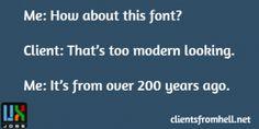 Ancient Font  #Funny #ux
