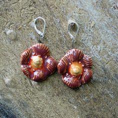 ceramic bead earrings by Amy Meya on Opensky