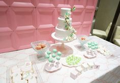 """Sweet Peas"" Baby Shower - such a sweet theme for twins!"