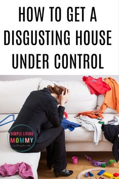 Is your house completely messy, disgusting, and out of control? Here are the exact steps you can't miss that will get your house under control in just one day! Weekly Cleaning, Household Cleaning Tips, Cleaning Checklist, House Cleaning Tips, Cleaning Hacks, Cleaning Lists, Cleaning Schedules, Spring Cleaning, Cleaning Routines