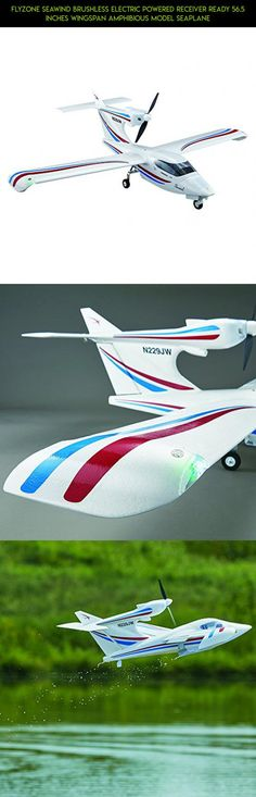 Flyzone Seawind Brushless Electric Powered Receiver Ready 56.5 Inches Wingspan Amphibious Model Seaplane #fpv #parts #tech #kit #airplane #drone #flyzone #gadgets #plans #racing #rc #technology #camera #shopping #products #parts