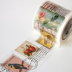 MT ex Postage Stamp Washi Tape by foxandstar on Etsy