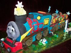 www.frescofoods.co.nz occasion cakes in Auckland New Zealand Train Engine & 2 carriages cake