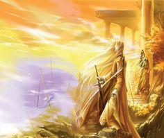 A Legendarium Enthusiast - Glorfindel Thranduil, Legolas, Lotr, Glorfindel, My Fantasy World, Jrr Tolkien, Lord Of The Rings, Middle Earth, The Hobbit