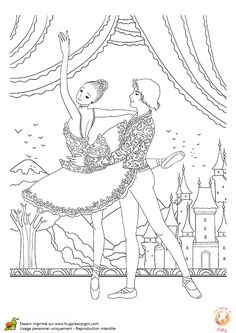 Sous le beau décor de la ville de Vienne, un couple de danseur classique se voient bien inspirer et n'attendent qu'à être colorer
