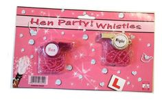 Hen Party Whistles