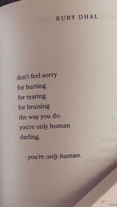 and ur my favorite human so you should forgive yourself