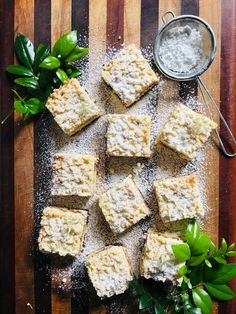 A buttery sugar-free version. Coconut Sugar, Coconut Oil, Square Pan, Sifted Flour, Vanilla Essence, Strawberry Jam, Cake Flour, Glass Dishes, Sugar Free