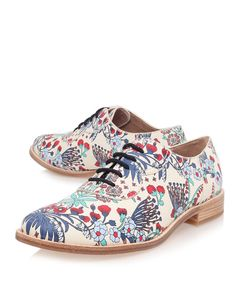 MARC by Marc Jacobs Floral Print Oxford Shoes