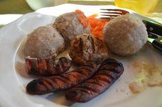 West Norwegian Potato Ball komle or Raspeball Gluten Free Recipes, Baking Recipes, Cake Recipes, Norwegian Food, Scandinavian Food, National Dish, Sausage, Pork