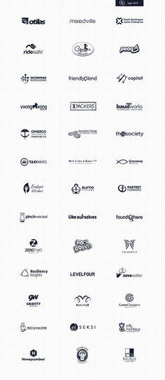 Logos '10-'11 by Rich Scott, via Behance