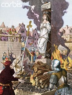 Pictures Of Joan Of Arc Burning At The Stake
