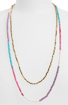Panacea Beaded Multistrand Necklace available at #Nordstrom