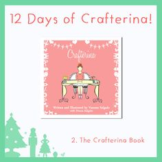 We're celebrating the holidays with 12 Days of Crafterina! Gift a book that will inspire a child to read, create, and dance: bit.ly/TheCrafterinaBookstore ‪#‎HolidayGift‬ ‪#‎Christmas‬ ‪#‎Crafterina‬ www.Crafterina.com