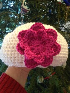Adorable baby flower cloche hat  by GiftedMommyCreations on Etsy, $15.00