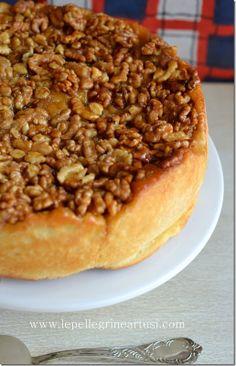 Le pellegrine Artusi: Torta di noci rovesciata con impasto brioche:fanta...