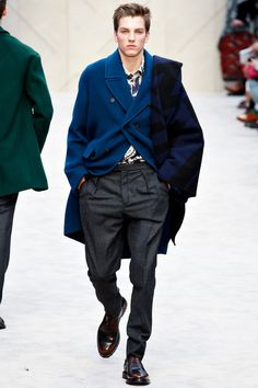 Burberry Prorsum | Fall 2014 Menswear Collection | Style.com