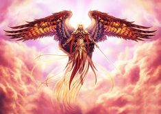 Warrior Angel Art