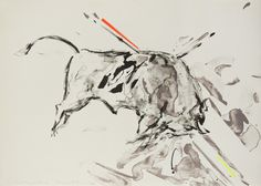 Taurus IX, Color Trial Proof 1, Elaine De Kooning