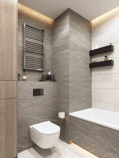 Scandinavian Bathroom Design Ideas, Scandinavian Style, Living Roofs, Apartment Projects, Small Apartments, Living Room Designs, Toilet, Loft, Interior Design