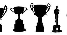 FREE SVG trophy Oscar cup prize sport theatre award KLDezign les SVG: Des trophées