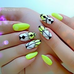 Probably not in neon but maybe nude? Love the tribal inspired geometrics <3