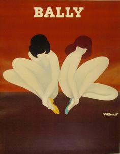 Image of Bally (Lotus Twins) poster