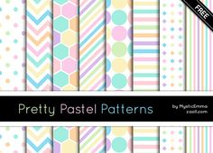 GOODIES: PRETTY PASTEL PATTERNS