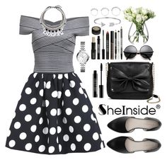"""Sheinside"" by oshint ❤ liked on Polyvore featuring Sam & Libby, Lord & Berry, Joomi Lim, FOSSIL, LSA International, Bling Jewelry, Eddie Borgo and Sheinside"