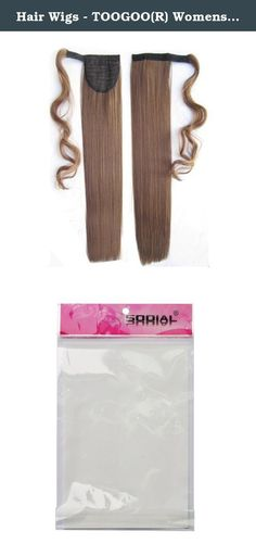 "Hair Wigs - TOOGOO(R) Womens Fashionable Hair Wigs Deluxe Thick Ponytail Pony Tail 24""(61cm) for straight Light-Brown. * TOOGOO is a registered trademark. ONLY Authorized seller of TOOGOO can sell under TOOGOO listings.Our products will enhance your experience to unparalleled inspiration. TOOGOO(R) Womens Fashionable Hair Wigs Deluxe Thick Ponytail Pony Tail 24""(61cm) for straight Light-Brown Color: Light-Brown Length: 24""(61cm) for straight Package Contents: 1 x Horsetail wig Clip in…"