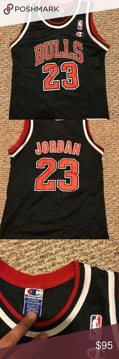 e39c67720 Champion Michael Jordan jersey  23 Kids size M 10-12 Chicago bulls OG jersey