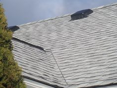 Oyster Gray Gaf Timberline Roof Shingles Swatch