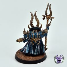 Thousand sons (Tzeentch) - Ahriman #ChaoticColors #commissionpainting #paintingcommission #painting #miniatures #paintingminiatures #wargaming #Miniaturepainting #Tabletopgames #Wargaming #Scalemodel #Miniatures #art #creative #photooftheday #hobby #paintingwarhammer #Warhammerpainting #warhammer #wh #gamesworkshop #gw #Warhammer40k #Warhammer40000 #Wh40k #40K #chaos #warhammerchaos #warhammer40k #tzeentch #thousandsons #Ahriman Thousand Sons, Warhammer 40000, Tabletop Games, Gw, Miniatures, Studio, Creative, Painting, Color