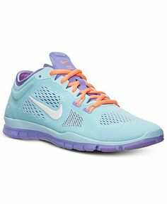 best loved f4b77 4bd6a Nike Women s Free 5.0 TR Fit 4 Training Sneakers from Finish Line Athletic  Fashion, Athletic
