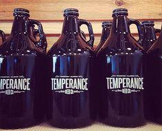 Temperance Beer Co. Growlers