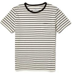 Hentsch Man - Striped Cotton-Jersey T-Shirt|MR PORTER